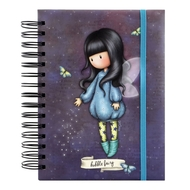 Agenda cu spira Gorjuss Bubble Fairy