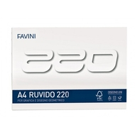 BLOC DESEN A4 20 FILE 220G/MP FAVINI 220