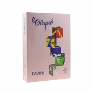 CARTON COLOR 160G/MP A4 108 ROZ FAVINI