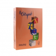 CARTON COLOR 160G/MP A4 205 PORTOCALIU FAVINI