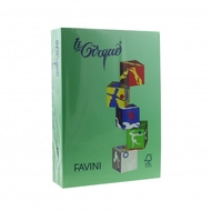 CARTON COLOR 160G/MP A4 208 VERDE INCHIS FAVINI