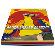 CARTON COLOR CN120 A4  100COLI  10CUL  DACO 120G/MP