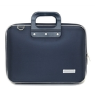 Geanta lux business laptop 13 in Nylon Bombata-Bleumarin