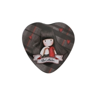 Gorjuss Tartan - Cutie forma inima - The Collector