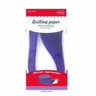 HARTIE QUILLING AA MOV 42.5X0.5CM 100/SET DACO HQ100M
