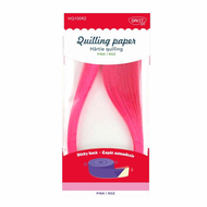 HARTIE QUILLING AA ROZ 42.5X0.5CM 100/SET DACO HQ100RZ