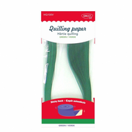 HARTIE QUILLING AA VERDE 42.5X0.5CM 100/SET DACO HQ100V