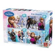 Puzzle 4 in 1 Frozen(12162024 piese)