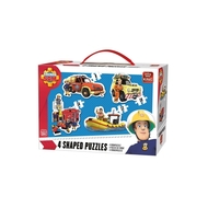 Puzzle 4in1 Fireman sam
