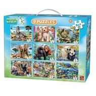 Puzzle 9 in 1 Animale