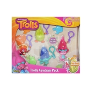 Zuru Trolls - Medium Key Chain 4PK